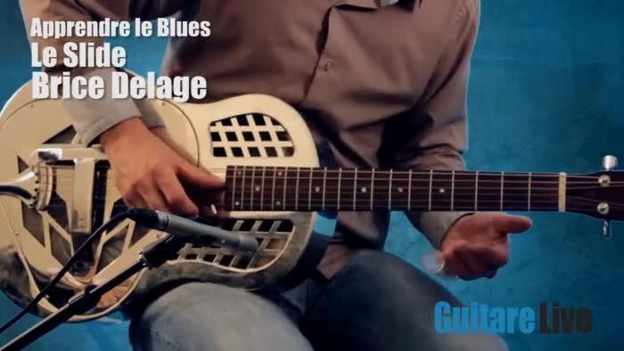 Apprendre le Blues - Le slide - Partie 4 - Blues - Guitare ...